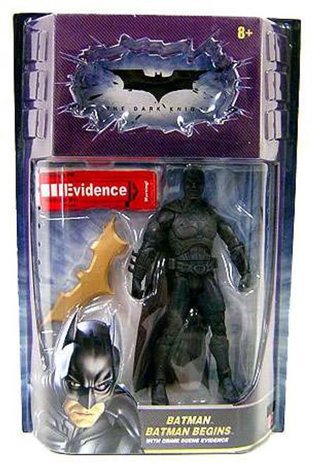The Dark Knight Movie Masters Demon Batman (Batman Begins) Action Figure [Crime Scene Evidence]