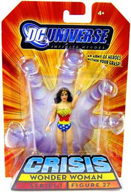 DC Universe Crisis Infinite Heroes Wonder Woman Action Figure #27