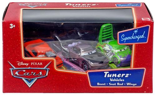 Disney / Pixar Cars Supercharged Tunerz Vehicles Diecast Car Set