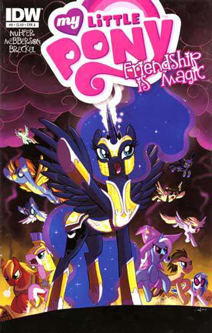 My Little Pony Friendship is Magic #8 Comic Book [Cover A]