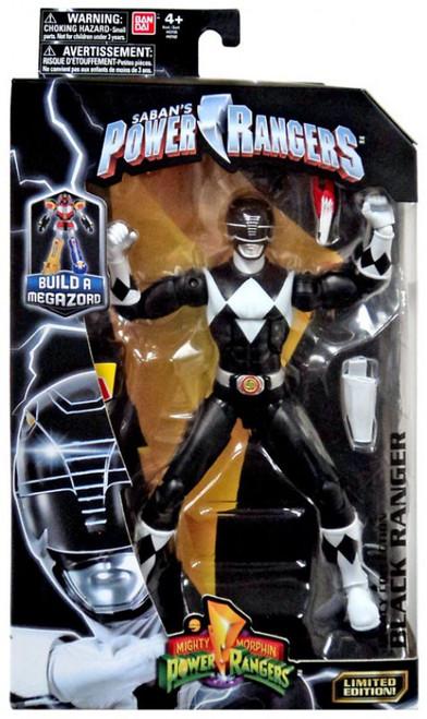 Power Rangers Mighty Morphin Legacy Build A Megazord Black Ranger Action Figure [MMPR]