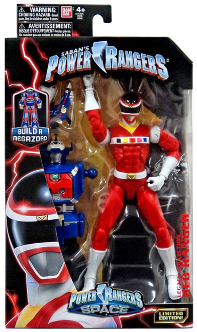 Power Rangers In Space Legacy Build A Megazord Red Ranger Action Figure [PRIS]