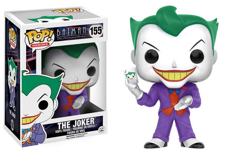 Funko Batman The Animated Series POP! Heroes The Joker Vinyl Figure #155 [The Animated Series]