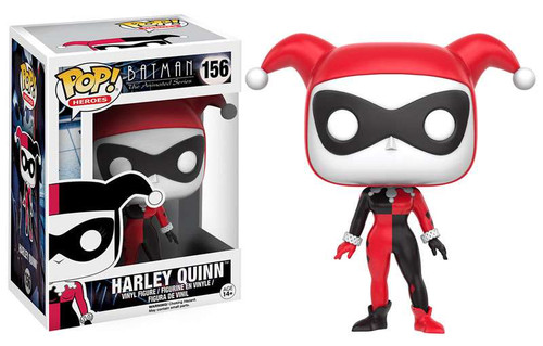 Funko Batman The Animated Series POP! Heroes Harley Quinn Vinyl Figure #156 [The Animated Series]