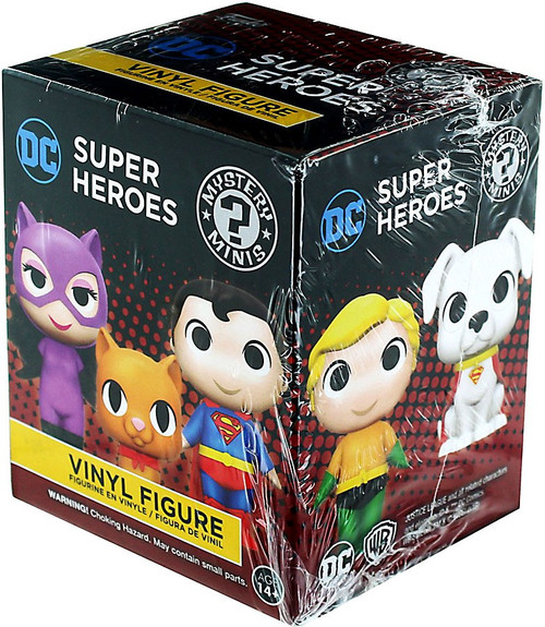 Funko Mystery Minis DC Super Heroes & Pets Mystery Pack