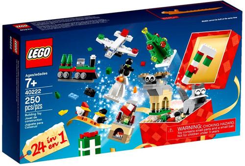 LEGO Christmas Build Up Exclusive Set #40222