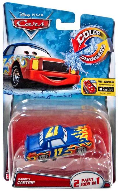 Disney / Pixar Cars Color Changers Darrell Cartrip Diecast Car [2016]