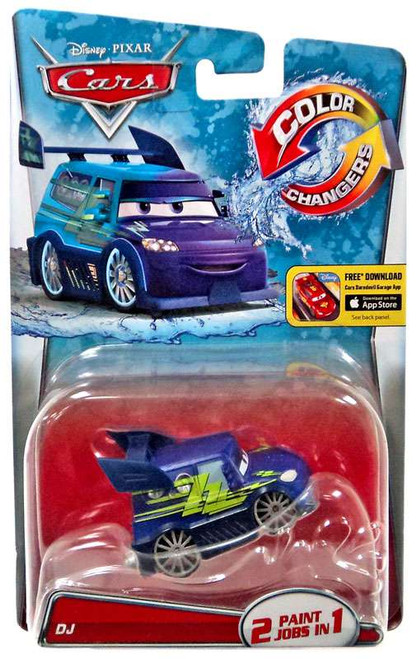 Disney / Pixar Cars Color Changers DJ Diecast Car [2016]