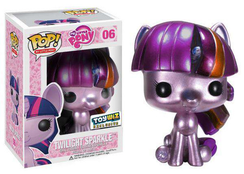 Funko POP! My Little Pony Metallic Twilight Sparkle Exclusive Vinyl Figure #06 [Metallic, Damaged Package]