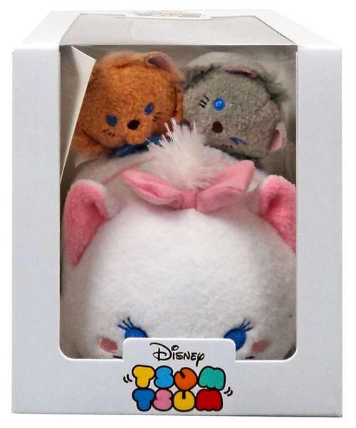 Disney Tsum Tsum Marie, Toulouse & Berlioz Exclusive Plush Set [Subscription Box]
