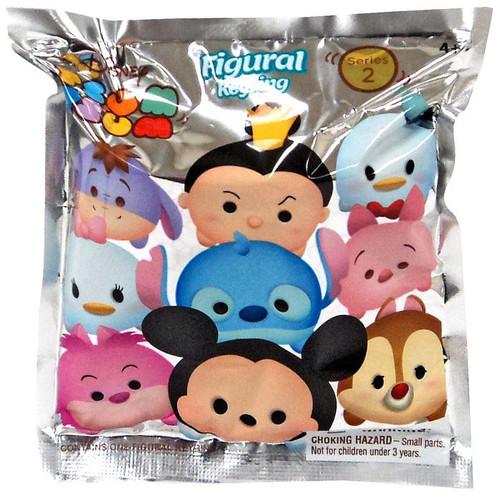 Disney 3D Figural Keyring Tsum Tsum Series 2 Mystery Pack