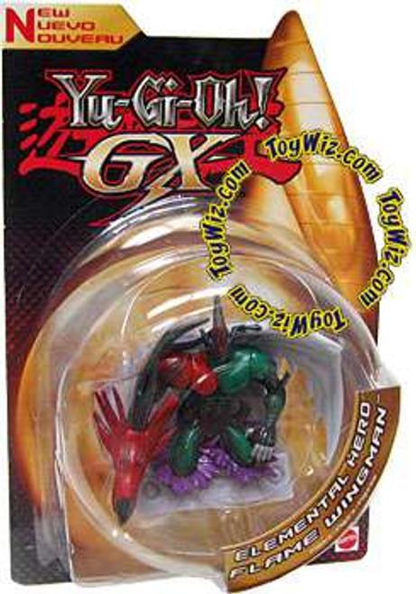 YuGiOh GX Trading Card Game 3-Inch Figures Elemental Hero Flame Wingman Action Figure