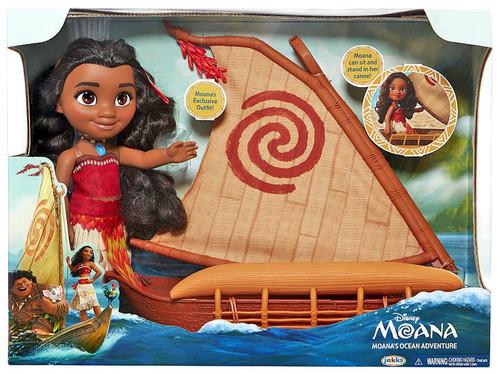 Disney Moana Moana Ocean Adventure Exclusive 14-Inch Doll Set