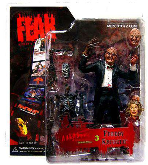 Nightmare on Elm Street Cinema of Fear Freddy Krueger Action Figure [Damaged Package]
