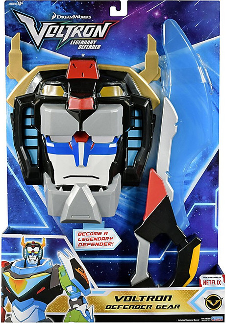 Voltron Legendary Defender Defender Gear Voltron Roleplay [Mask & Weapon]