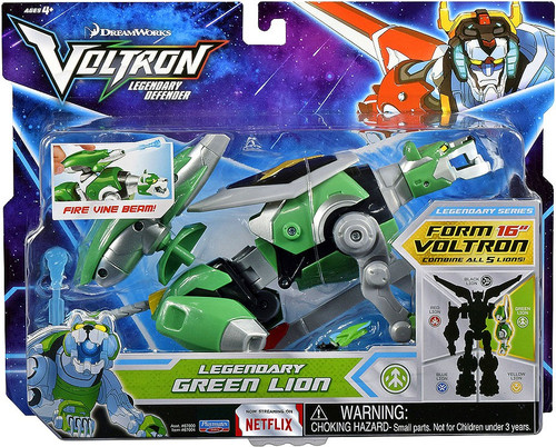 Voltron Legendary Defender Green Lion Combinable Action Figure [Fire Vine Beam]