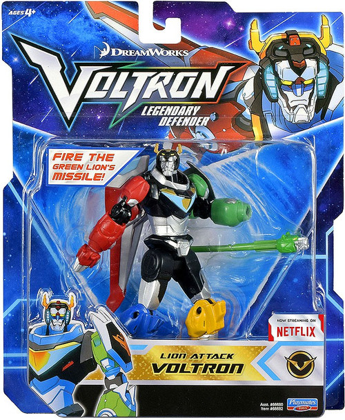 Voltron Legendary Defender Lion Attack Voltron Basic Action Figure