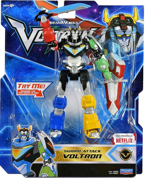 Voltron Legendary Defender Sword Attack Voltron Basic Action Figure