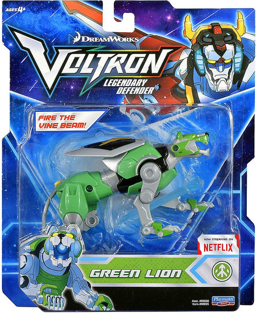 Voltron Legendary Defender Green Lion Basic Action Figure