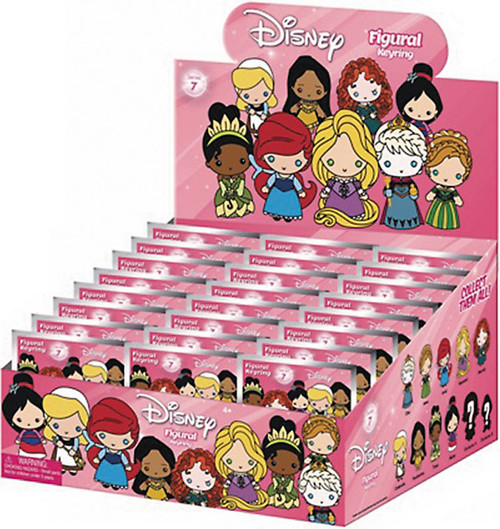 3D Figural Keyring Disney Series 7 Mystery Box [24 Packs]