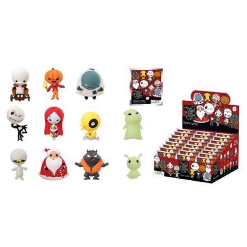 Nightmare Before Christmas 3D Figural Keyring NBX Series 2 Mystery Box [24 Packs]