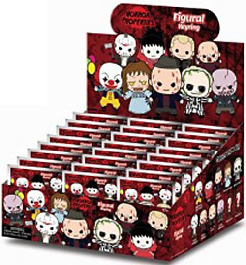 3D Figural Keyring Horror Series 2 Mystery Box [24 Packs]