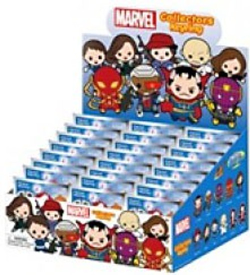 3D Figural Keyring Marvel Series 8 Mystery Box [24 Packs]