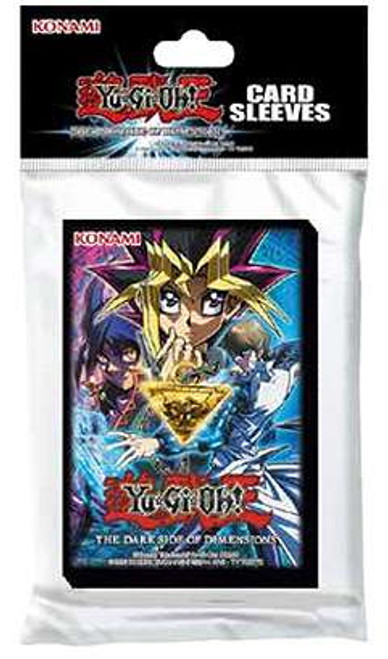 YuGiOh Trading Card Game Official Sleeves The Dark Side of Dimensions Small Card Sleeves [50 Count]