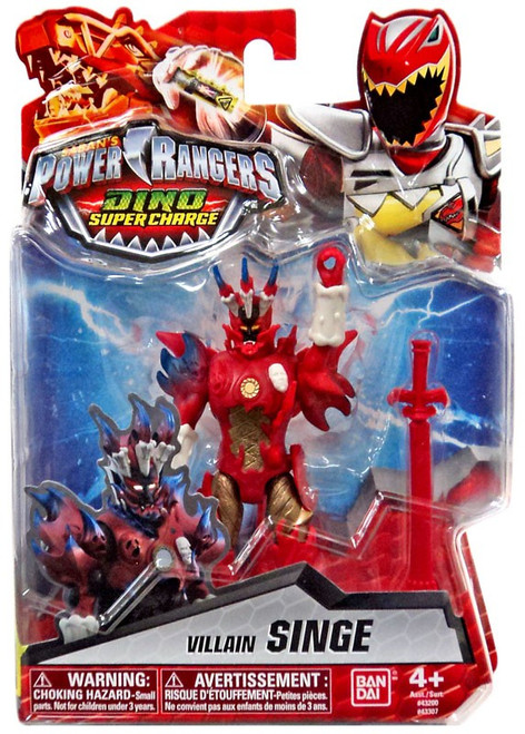 Power Rangers Dino Super Charge Singe Action Figure