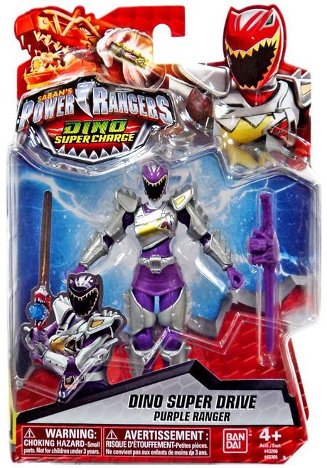 Power Rangers Dino Super Charge Dino Super Drive Purple Ranger Action Figure