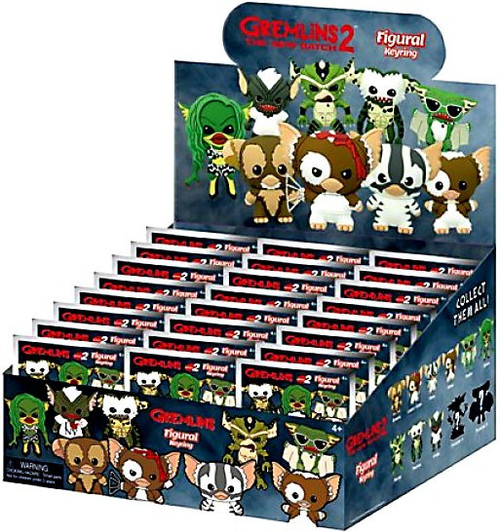 3D Figural Keyring Gremlins Series 2 Mystery Box [24 Packs]