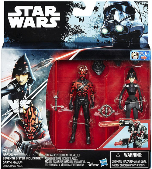 Star Wars Rebels Seventh Sister Inquisitor & Darth Maul Action Figure 2-Pack