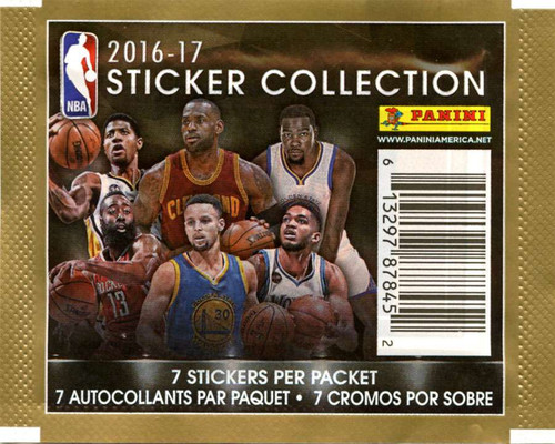 NBA Panini 2016-17 Basketball Sticker Collection Pack