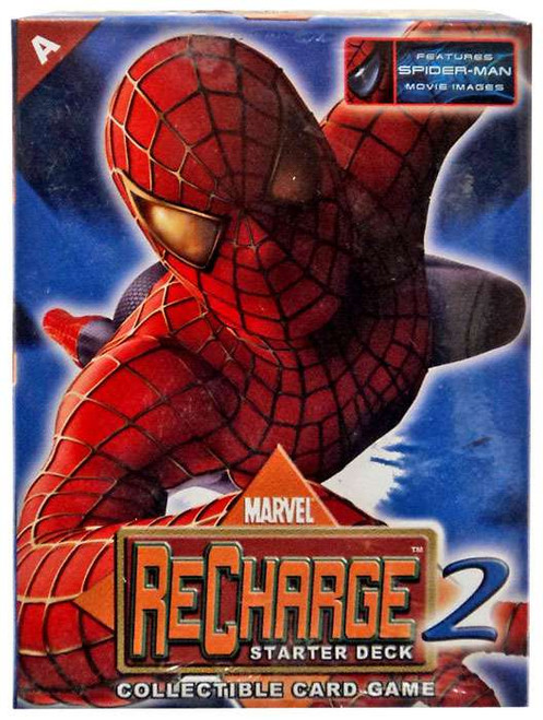 Marvel Collectible Card Game Recharge 2 Spider-Man Starter Deck