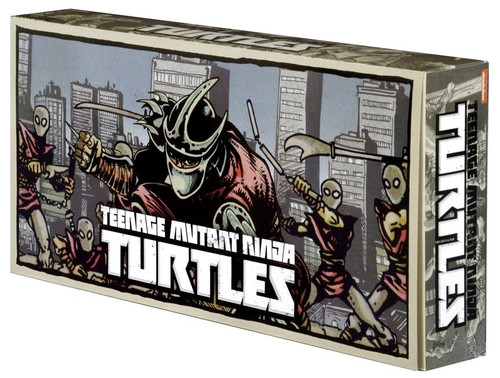 NECA Teenage Mutant Ninja Turtles Eastman & Laird Villians Exclusive Action Figure 4-Pack