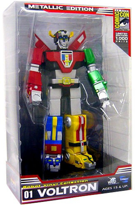 Defender of the Universe Voltron Lion Exclusive Figure [Vinyl Metallic Paint Edition]