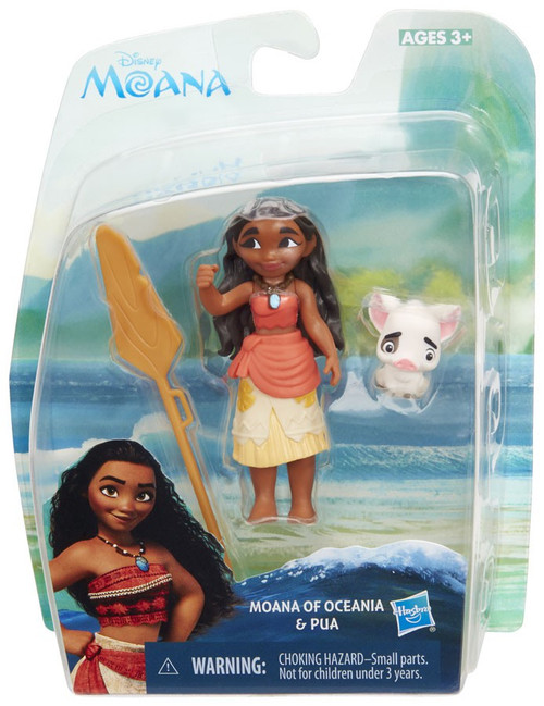 Disney Moana Moana of Oceania & Pua Action Figure