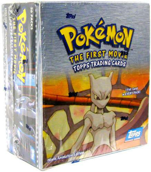 Pokemon Topps The First Movie Trading Card Box [36 Packs]
