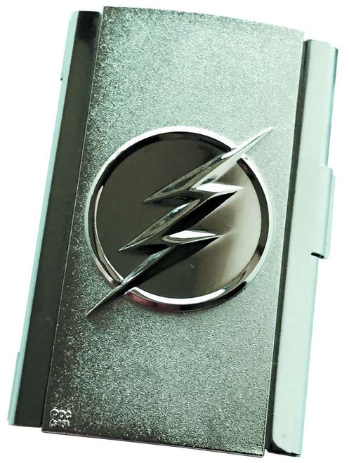 DC The Flash Flash Logo Metal Business Card Case Exclusive 2-Inch Apparel