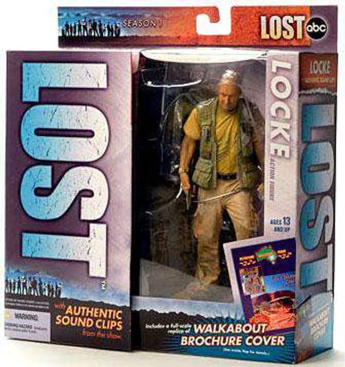 McFarlane Toys Lost Locke Action Figure [Damaged Package]