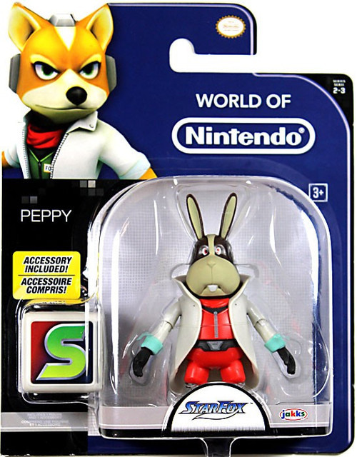 World of Nintendo Peppy Action Figure