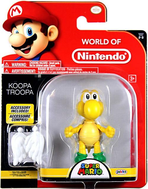 World of Nintendo Super Mario Koopa Troopa Action Figure