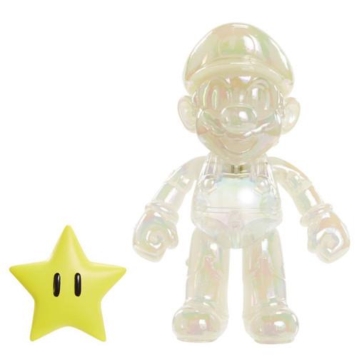 World of Nintendo Star Power Mario Action Figure
