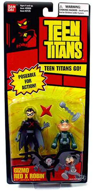 Teen Titans Go! Gizmo & Red X Robin Action Figure 2-Pack
