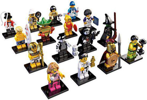 LEGO Minifigures Series 2 Set of 16 Minifigures [Loose]