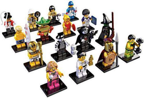 LEGO Minifigures Series 2 Set of 16 Minifigures [Loose]