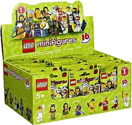 LEGO Minifigures Series 3 Mystery Box [60 Packs]