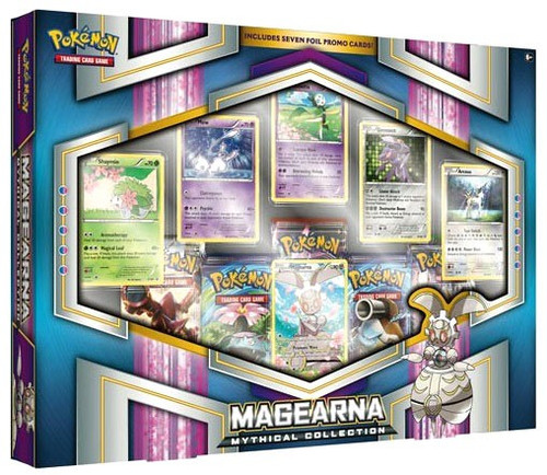 Pokemon Trading Card Game XY Magearna Mythical Collection [5 Booster Packs & 6 Promo Cards!]