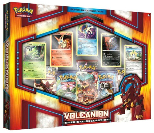 Pokemon Trading Card Game XY Volcanion Mythical Collection [5 Booster Packs & 6 Promo Cards!]