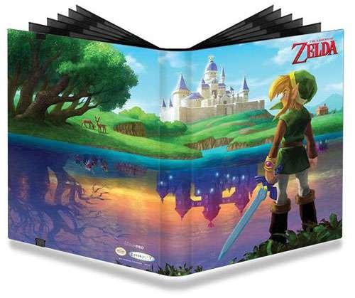 Ultra Pro Legend of Zelda A Link Between Worlds 9-Pocket Pro Binder